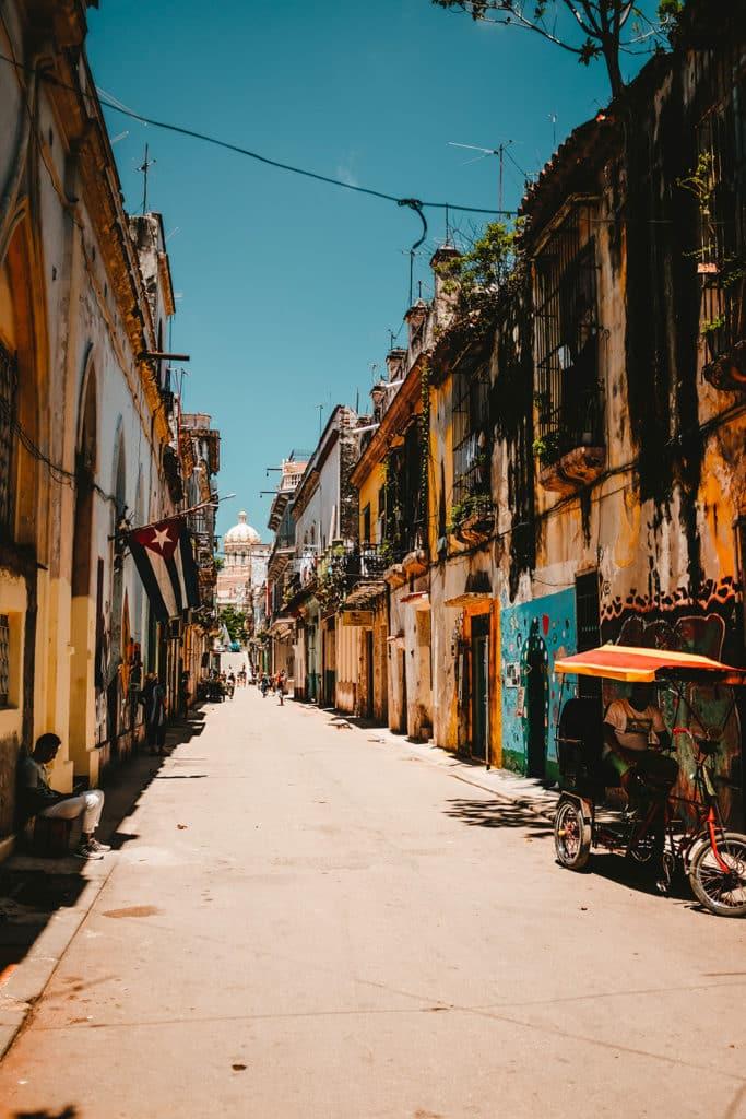 Pays moins cher Cuba