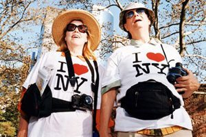 touristes à New York