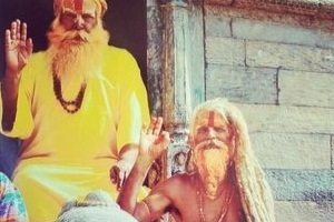 Sadhu spirituel en inde