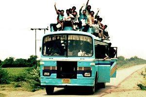 Indiens sur bus