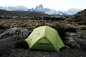 Tente en patagonie