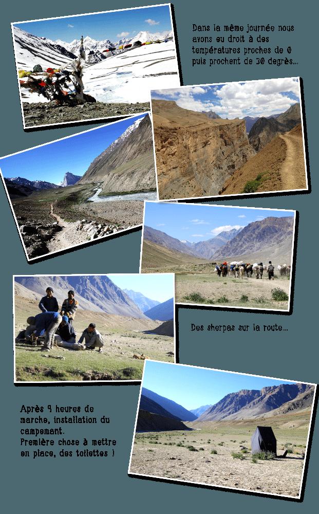 Paysage au Ladakh