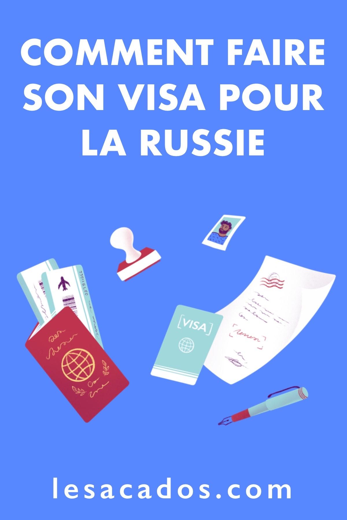 Vous souhaitez partir découvrir la Russie ? Dans cet article je vous explique comment obtenir votre visa russe facilement et en une heure top chrono !