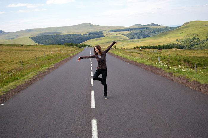 Kseniya en voyage