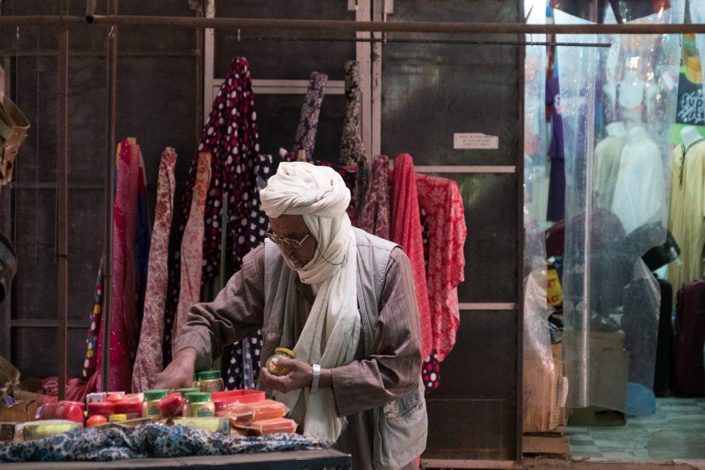 Vêtement Touareg : au Souk