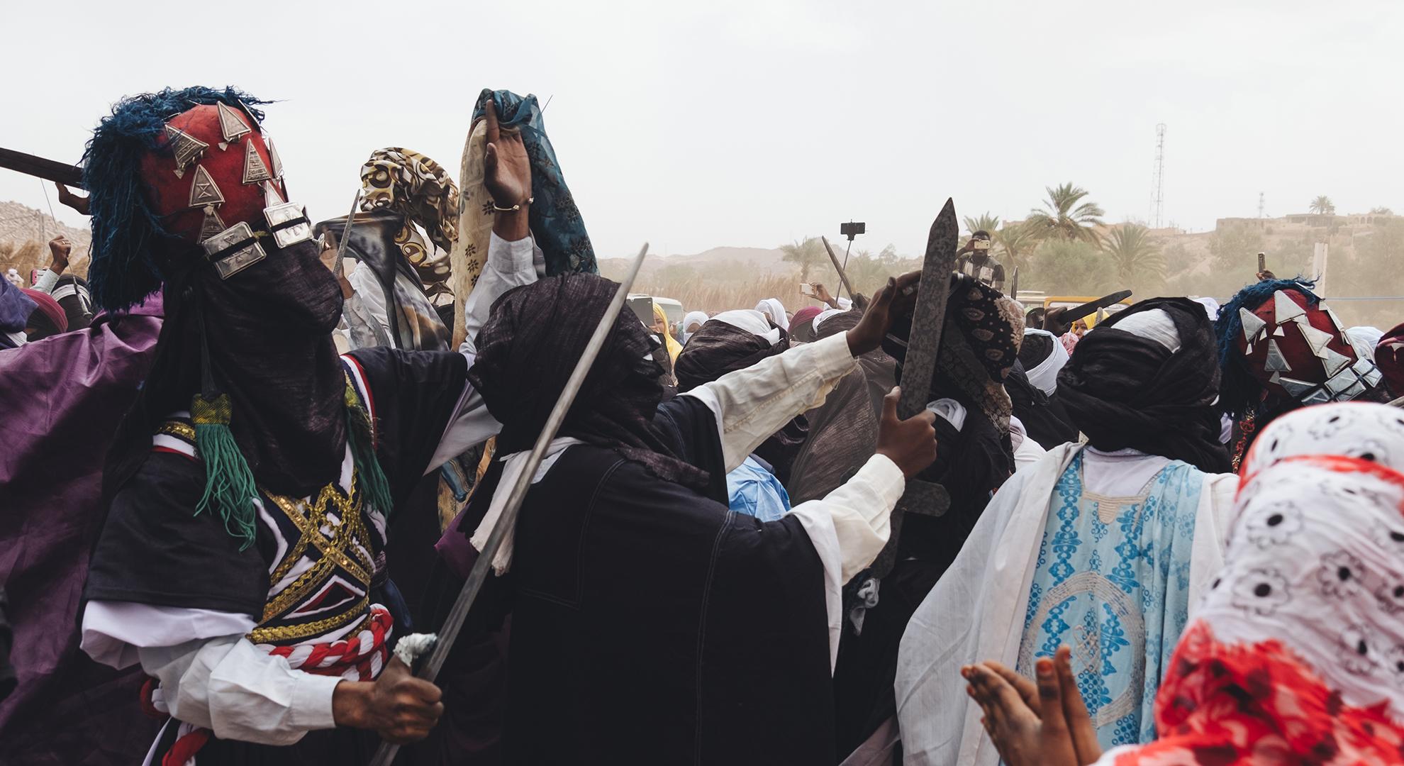 Une fête touareg millénaire au coeur du Sahara en Algérie