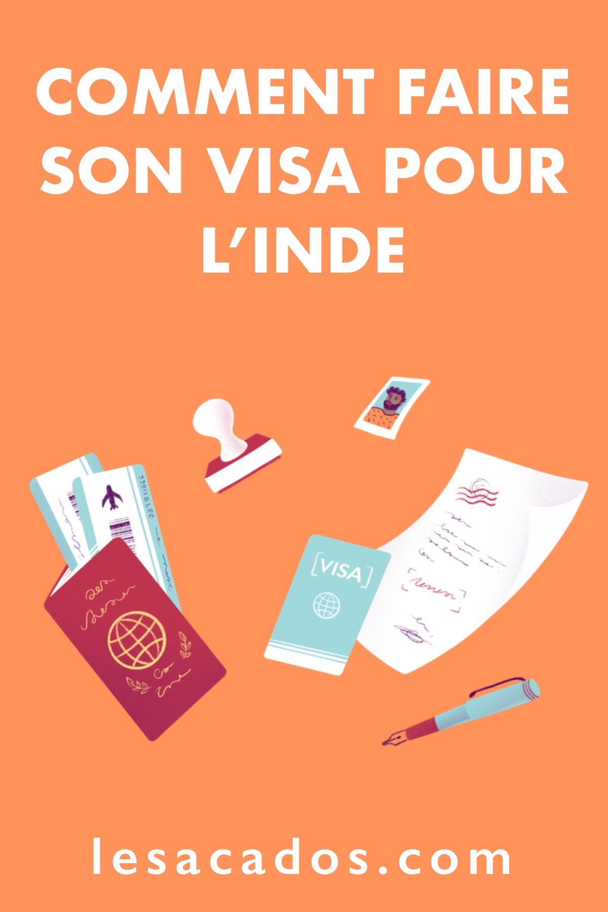 Vous souhaitez faire un Visa Inde? Dand cet article je vous explique comment faire votre e visa seul ou en passant par une agence.