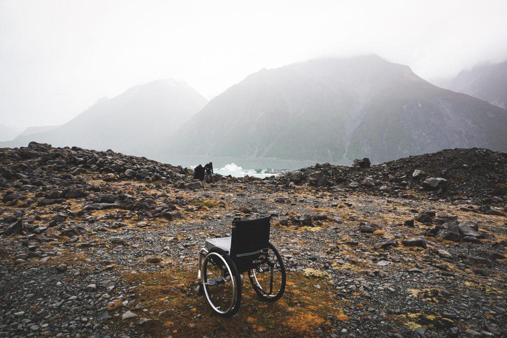 Voyager handicap montagne