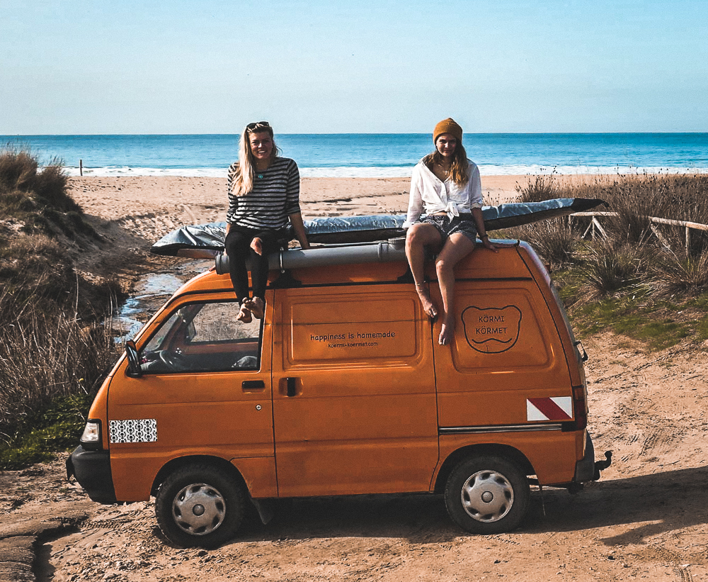 Voyage en van et surf !