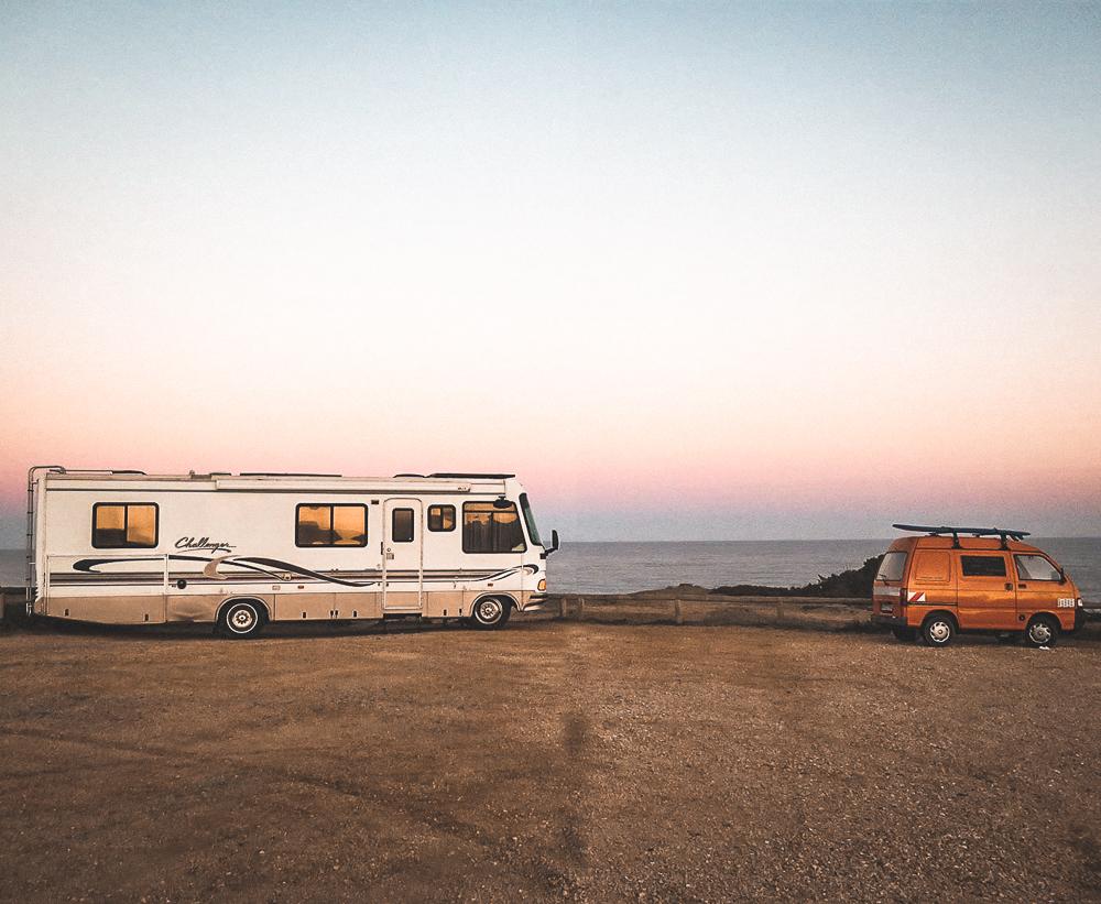 Voyage en van aménagé