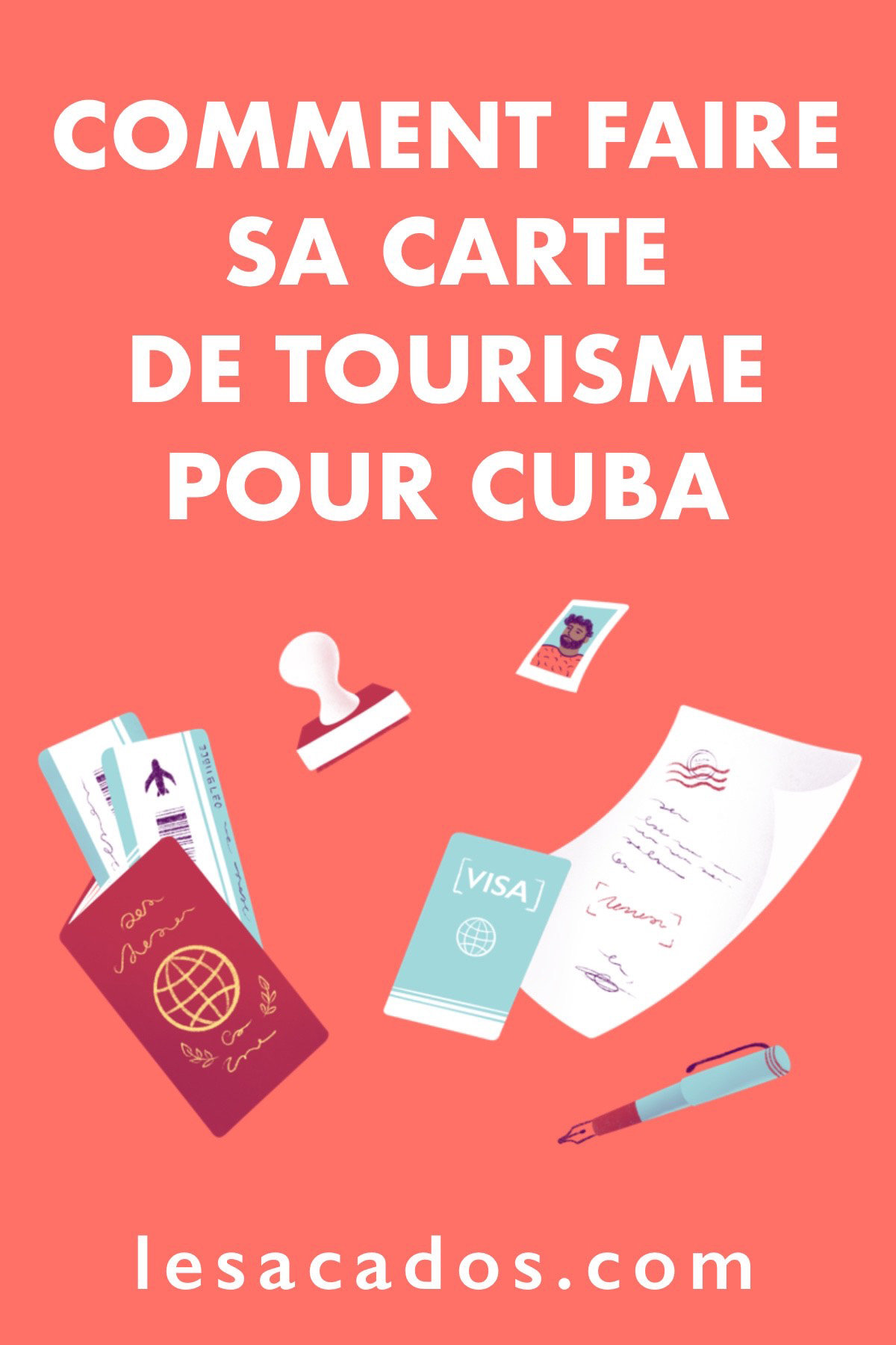 À Cuba on ne parle pas de visa mais de carte de tourisme. Dans cet article j'explique comment faire votre carte tout seul ou en passant par une agence.