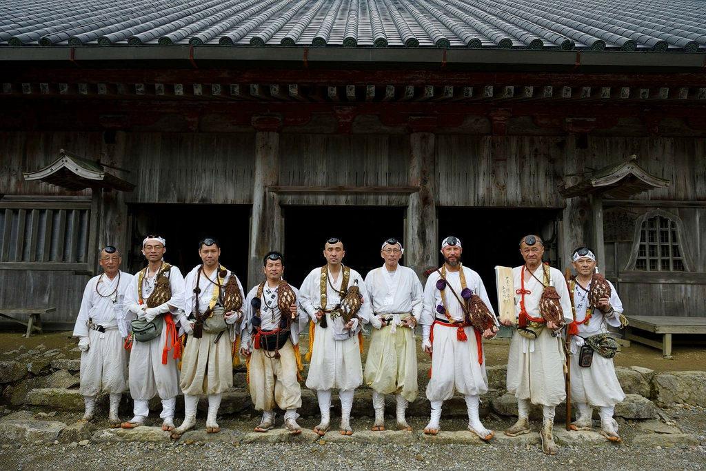 Yamabushi shugendo Japon