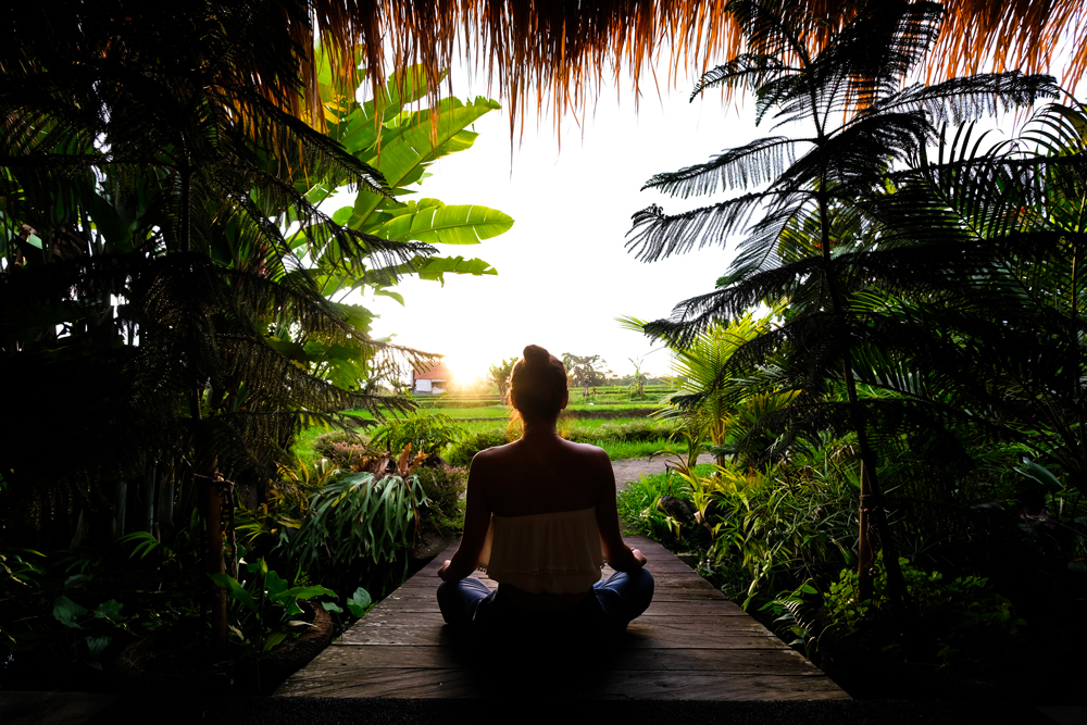 Retraite silencieuse Bali