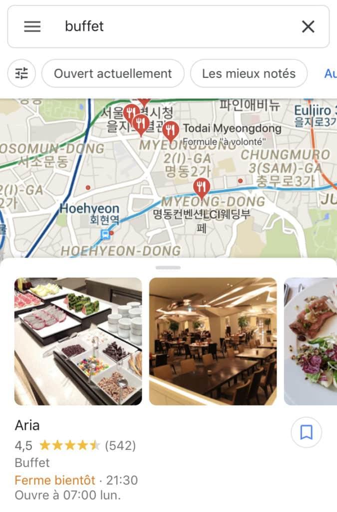 Buffet Seoul