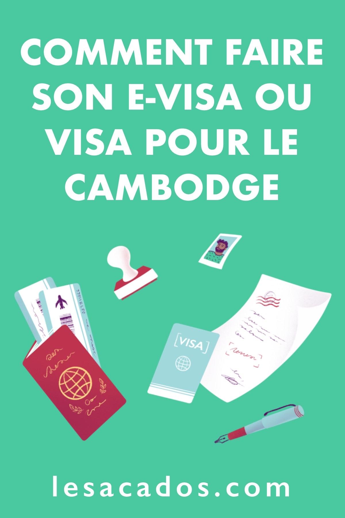 Vous partez au Cambodge? Il vous faudra absolument un e-visa. Dans cet article je vous explique comment faire votre visa Cambodge en ligne facilement.