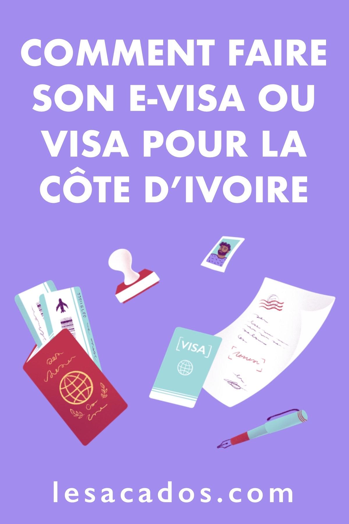 Vous souhaitez vous rendre en Côte d'Ivoire ? Dans cet article je vous explique comment comment obtenir votre visa Côte d'Ivoire facilement.