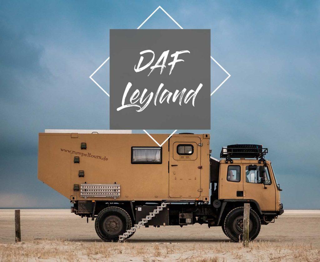 daf leyland Fourgon 4x4