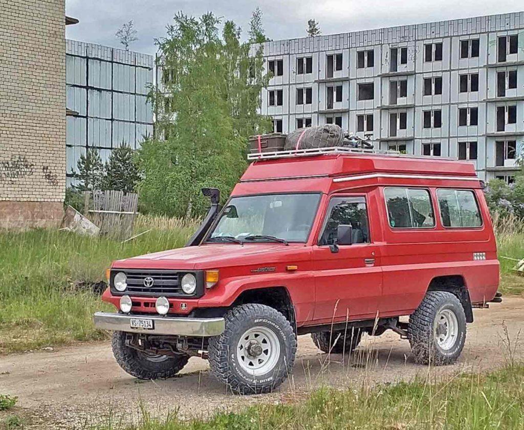 Landcruiser toyota mercedes 4x4