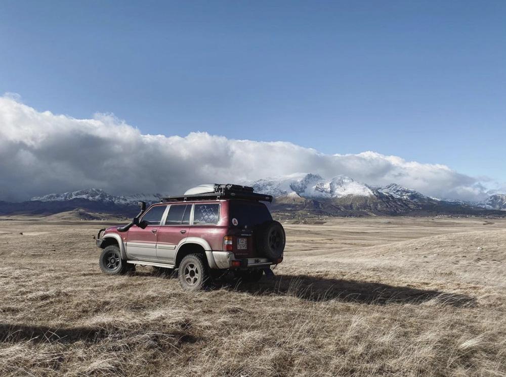 Nissan patrol y61 tour du monde