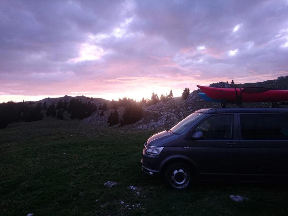 Vivre dans un van