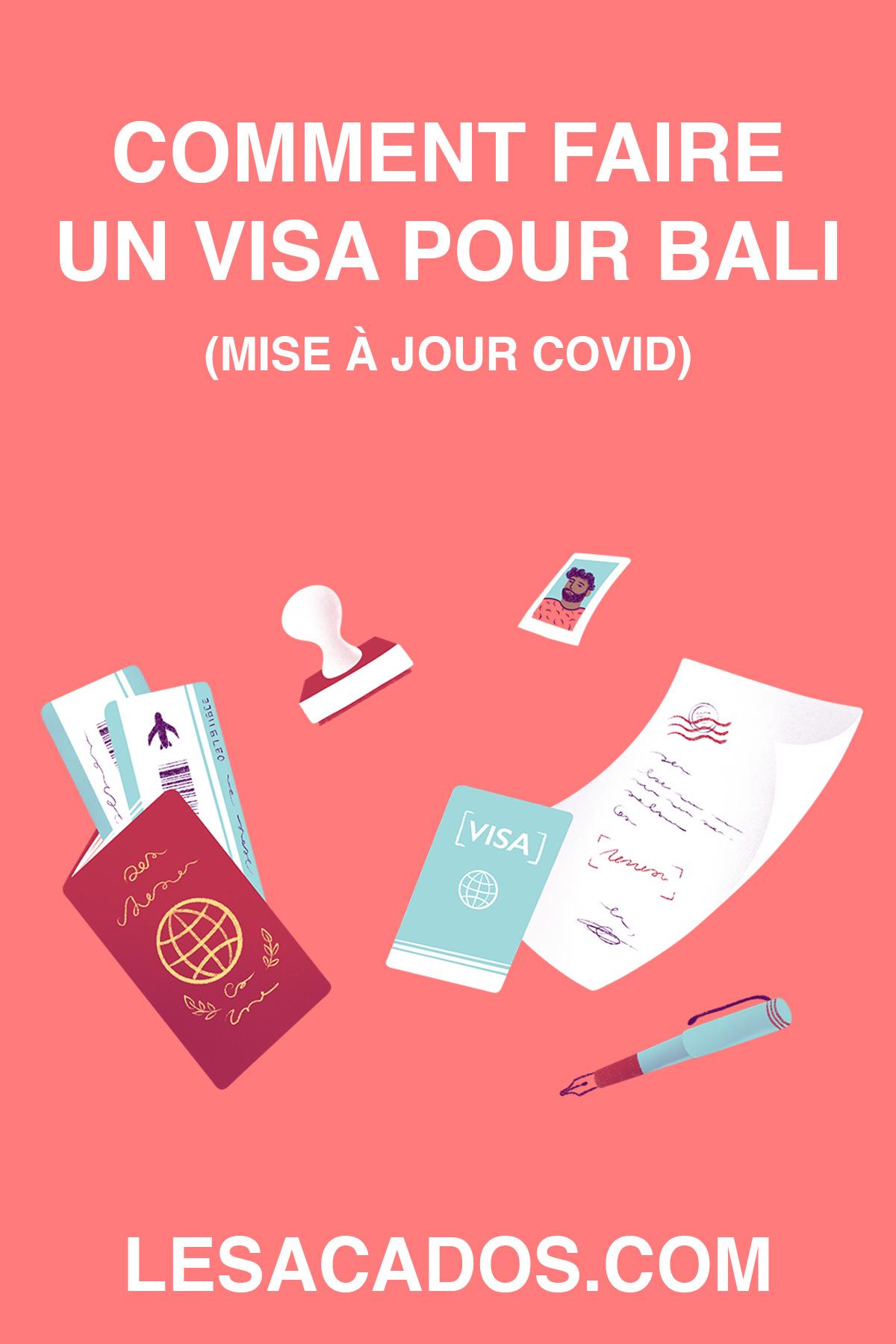 Je vous explique comment obtenir votre business visa pour Bali et profiter du cadre unique que propose cette île (mise à jour Covid-19).